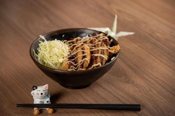 Chicken Sauce Katsudon
